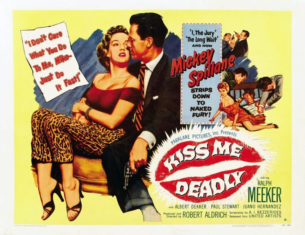 mickey spillane movie book Kiss Me Deadly mike hammer movie