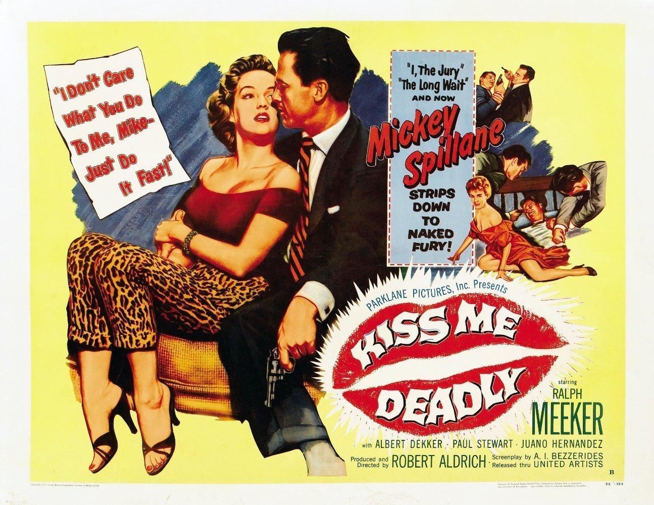 mickey spillane movie book Kiss Me Deadly mike hammer movie