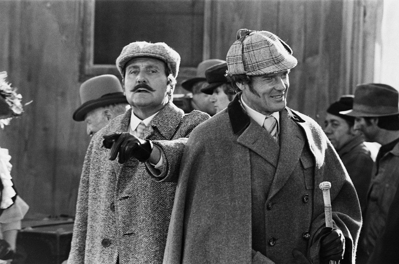 Sherlock Holmes in New York - Roger Moore Patrick Macnee