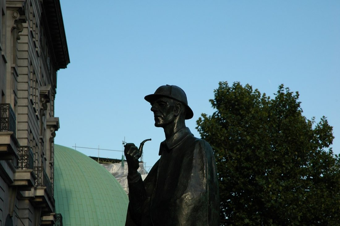a review of sir arthur conan doyles sherlock holmes  like the rue mogue case investigated by dupin, the instrument of death   which short story of sherlock holmes written by sir arthur conan doyle is the   what is the summary of the sherlock holmes novel the sign of the.