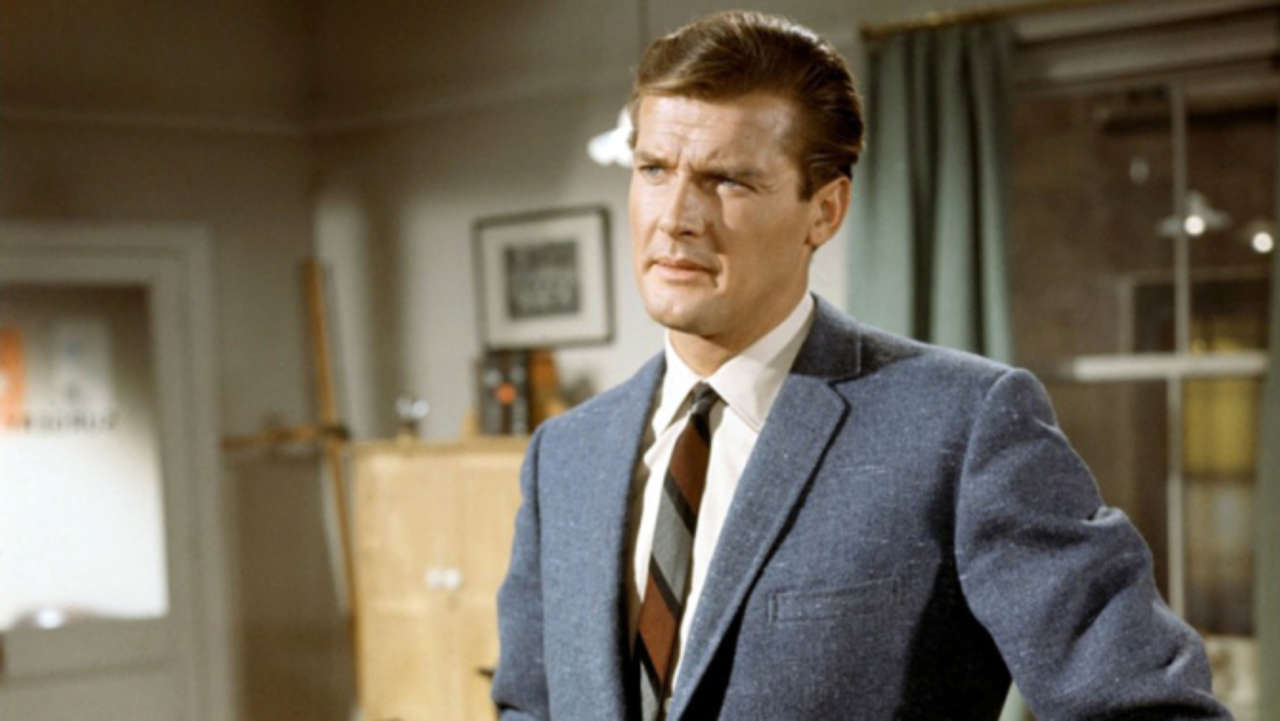 saint roger moore actor