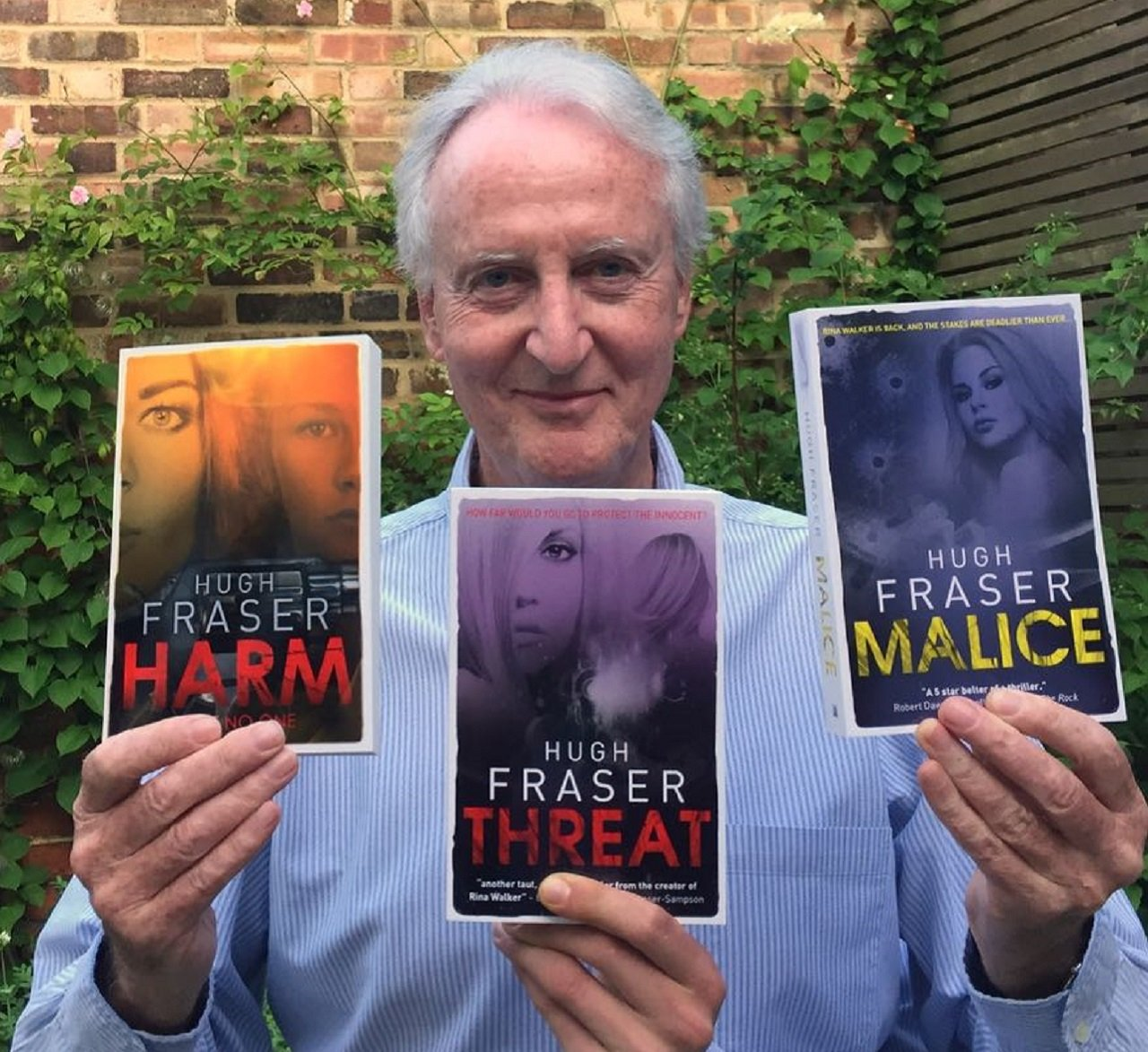 Poirot's Partner Hugh Fraser Releases The Third Instalment In Crime Thriller Series