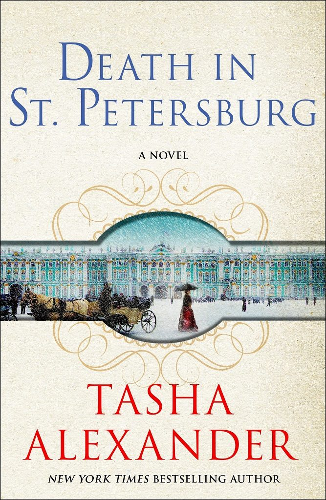 Death in St. Petersburg by Tasha Alexander best mystery thriller book covers 2017 book