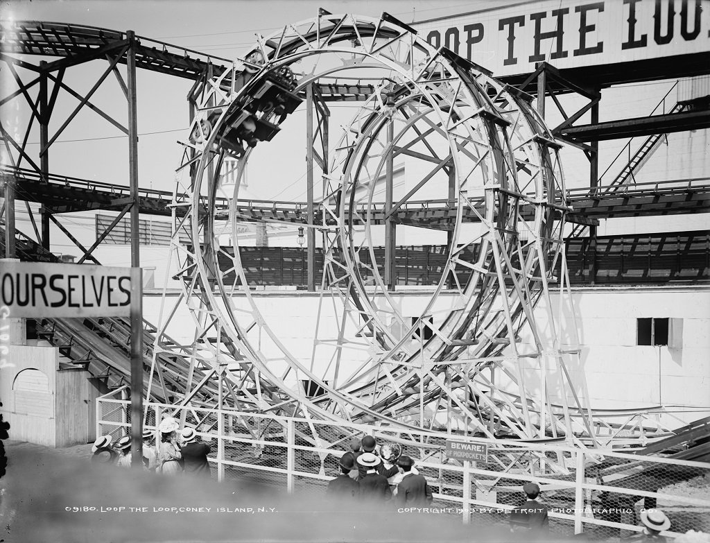 Lawrence H. Levy Circus Rings, Luna Park, Coney Island 1905
