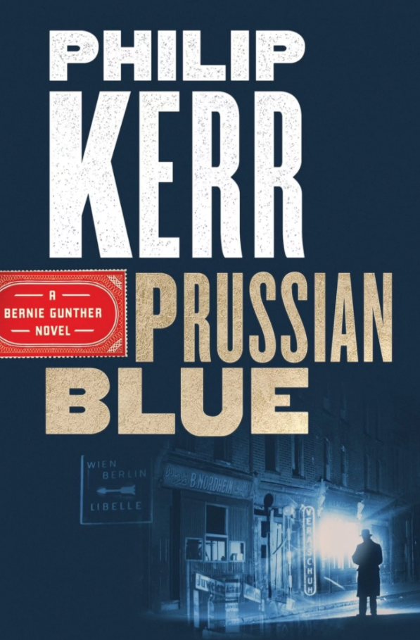 Prussian Blue by Philip Kerr best mystery thriller book covers 2017