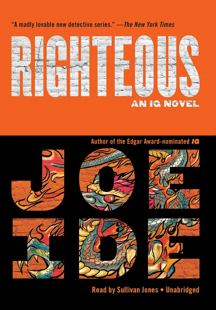 Righteous by Joe Ide best mystery thriller book covers 2017 book