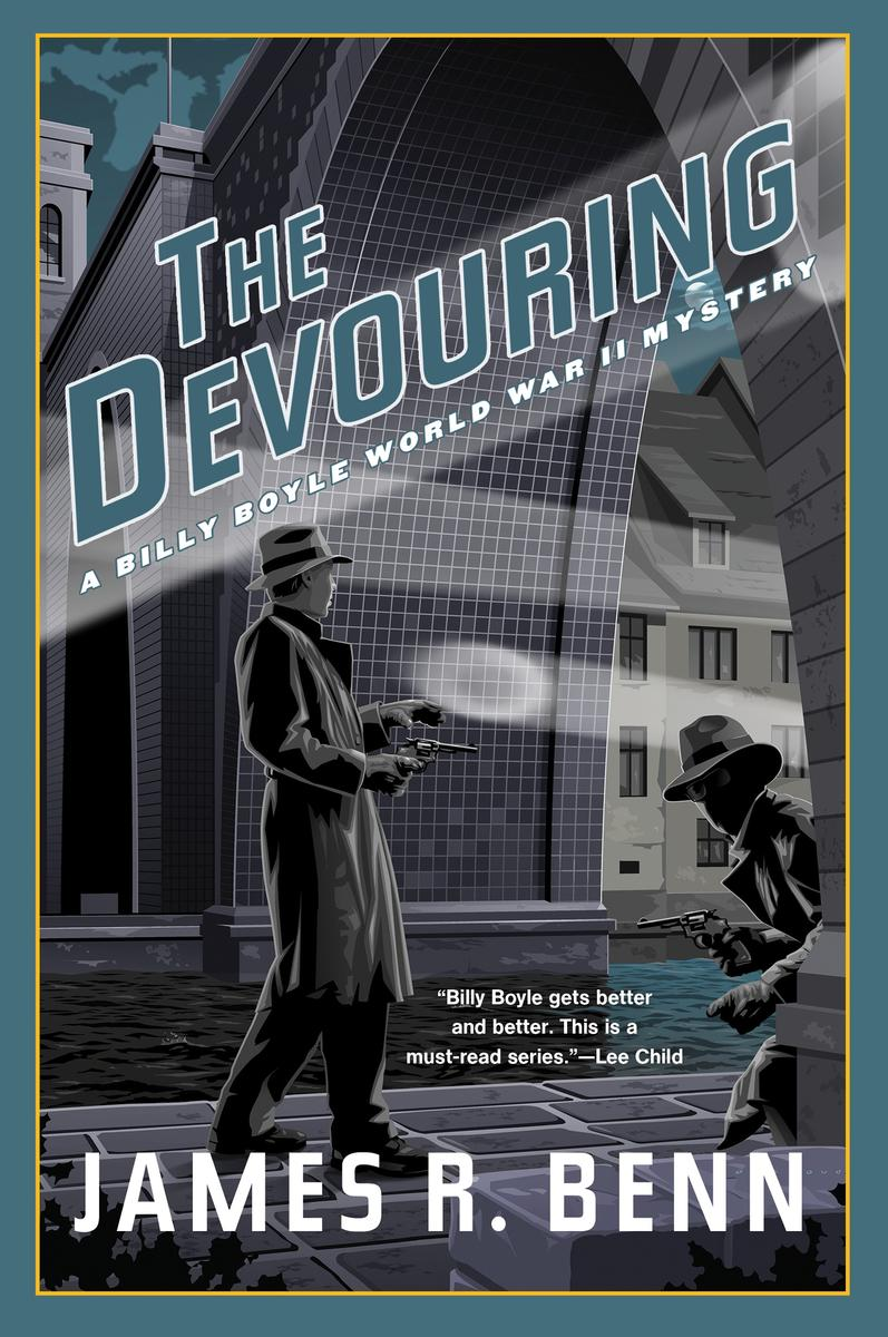 The Devouring james r benn best mystery thriller book covers 2017