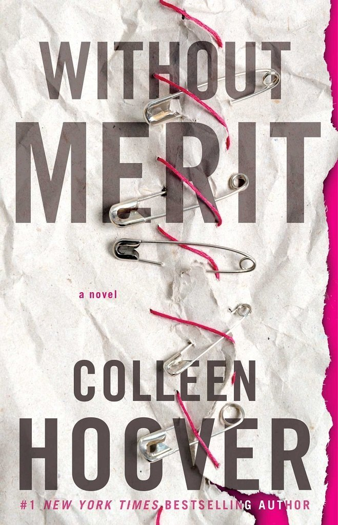 Without Merit by Colleen Hoover best mystery thriller book covers 2017 book