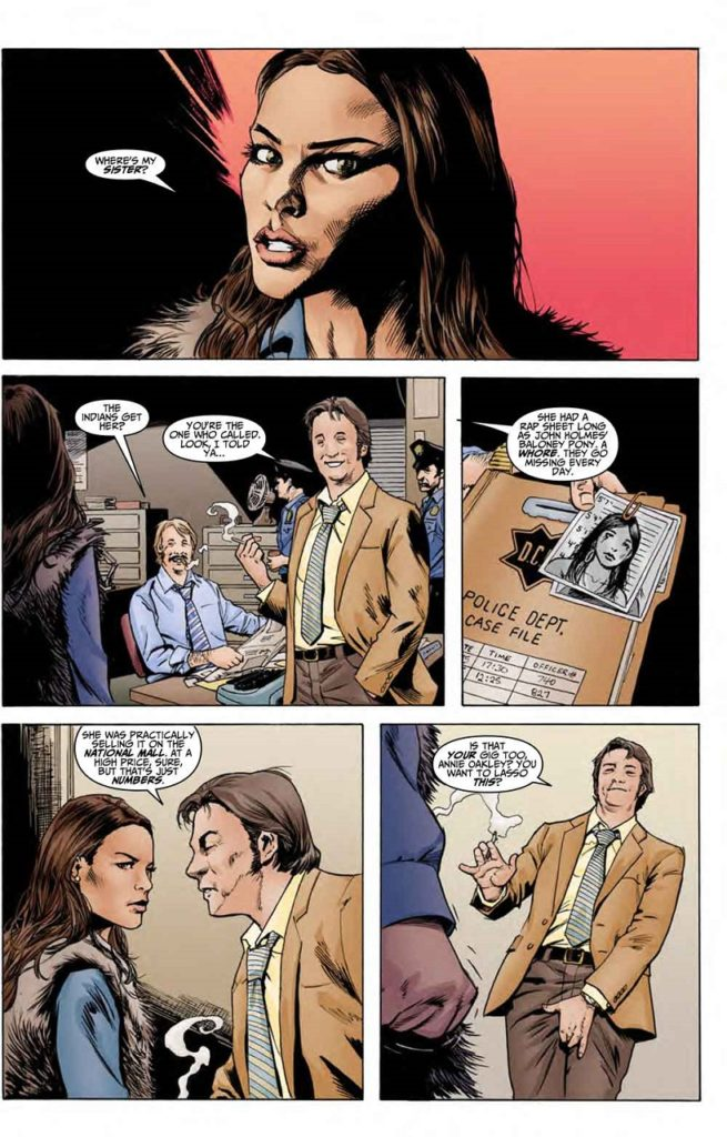 """Noir Graphic Novel """"Normandy Gold"""": The First 10 Pages"""