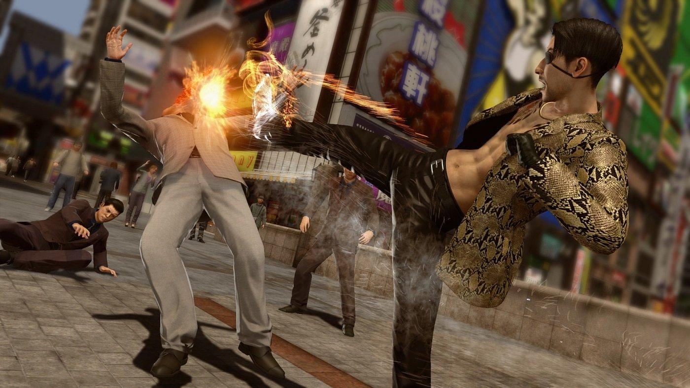 Best PS4 games 2019 action thriller edition Yakuza Kiwami 2