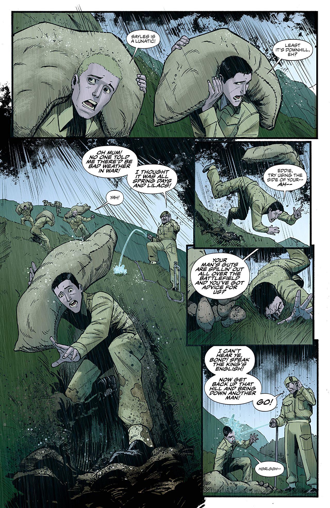 James Bond Origin Overview Of A Notable Spy Thriller Comics 4