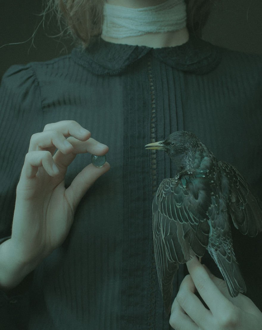 Laura Makabresku And Death In A Magical Land surreal photography 12