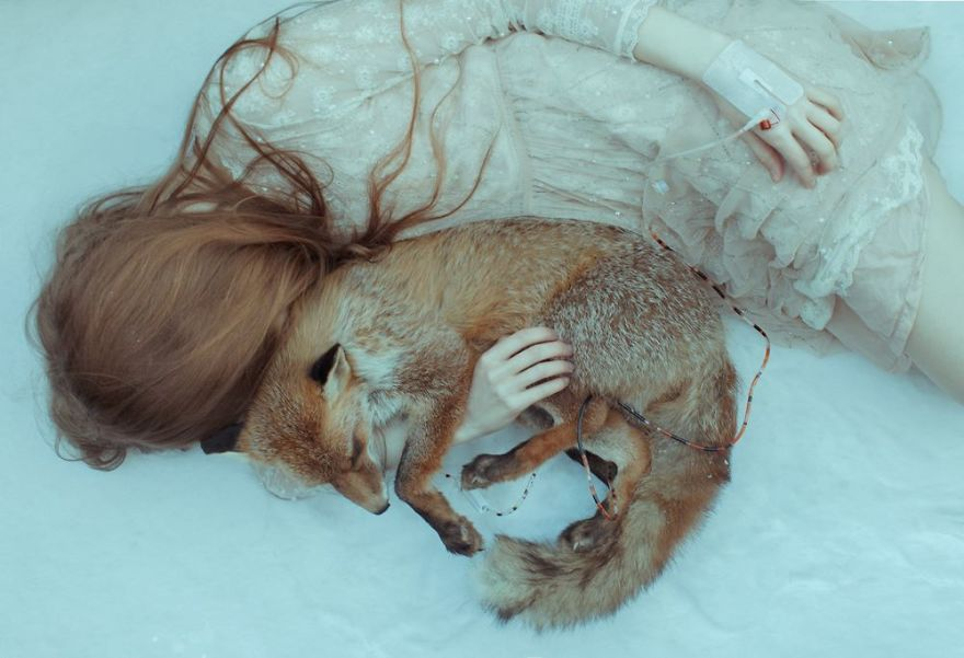 Laura Makabresku And Death In A Magical Land surreal photography 6