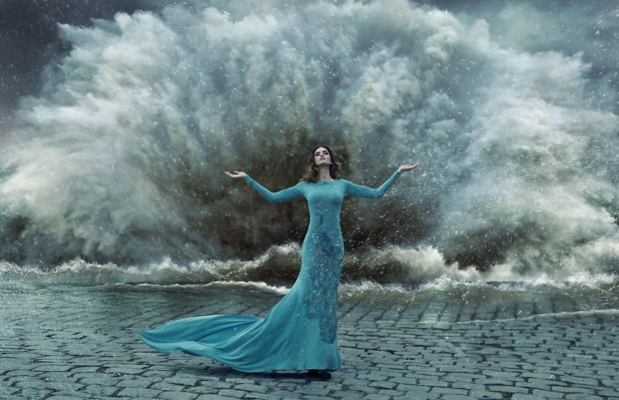 Triumph Konrad Bak Surreal Photography