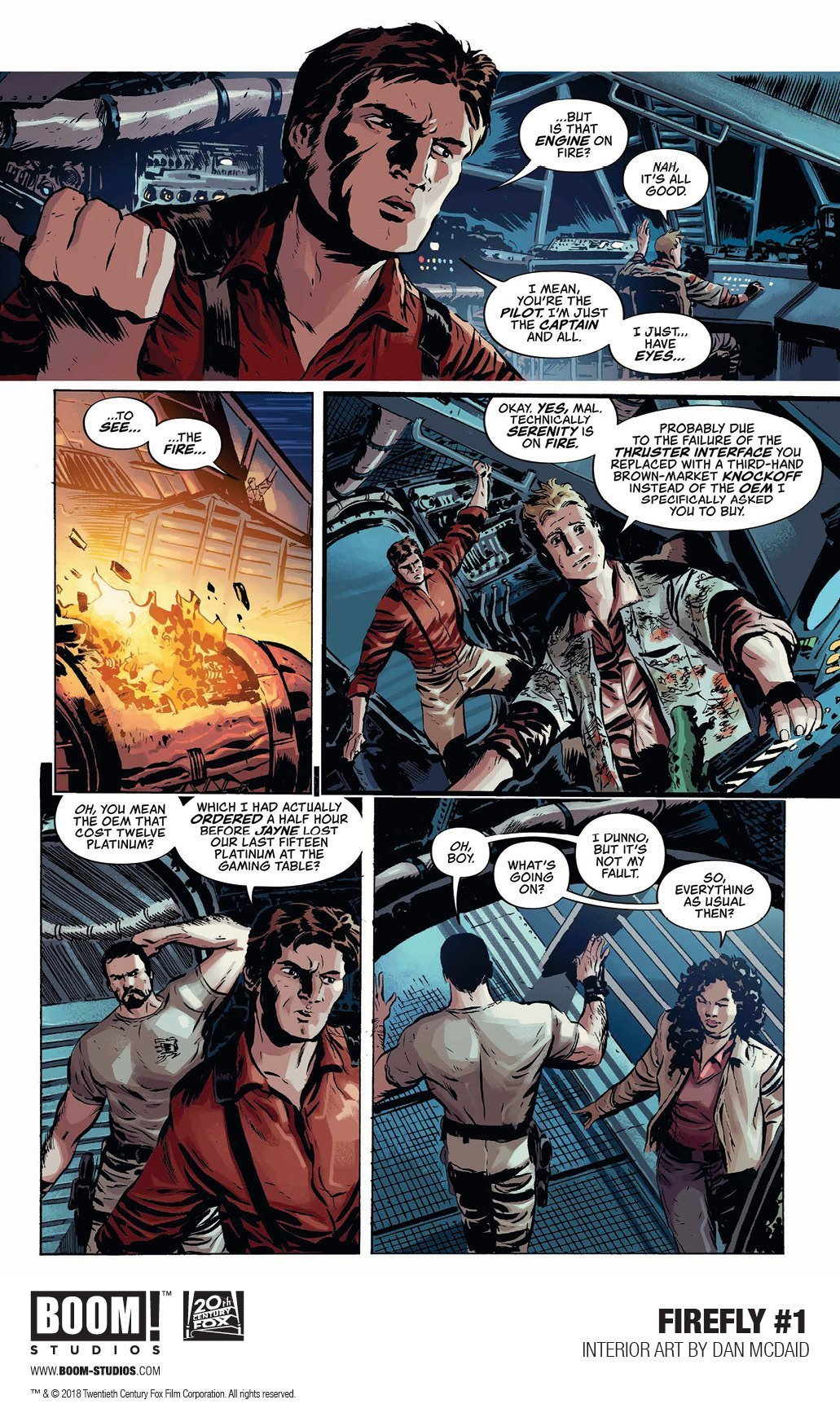 Firefly: A Space Western Comics For Adrenaline Junkies 2