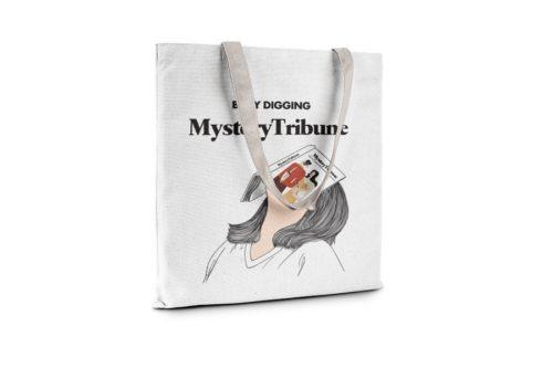 Mystery Tribune Tote Bag - Main