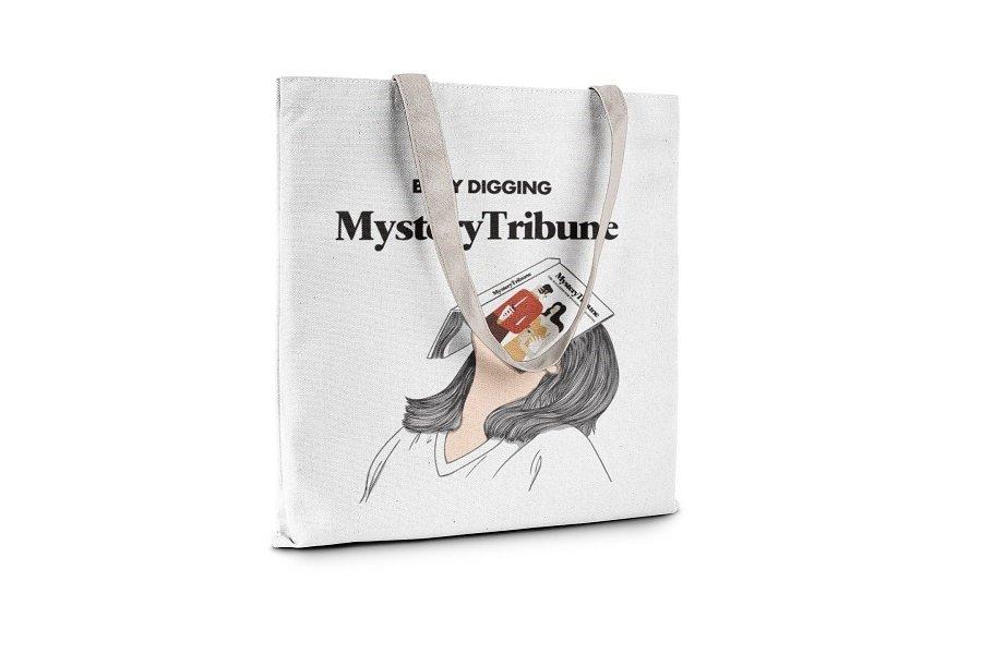 Mystery Tribune Tote Bag Main