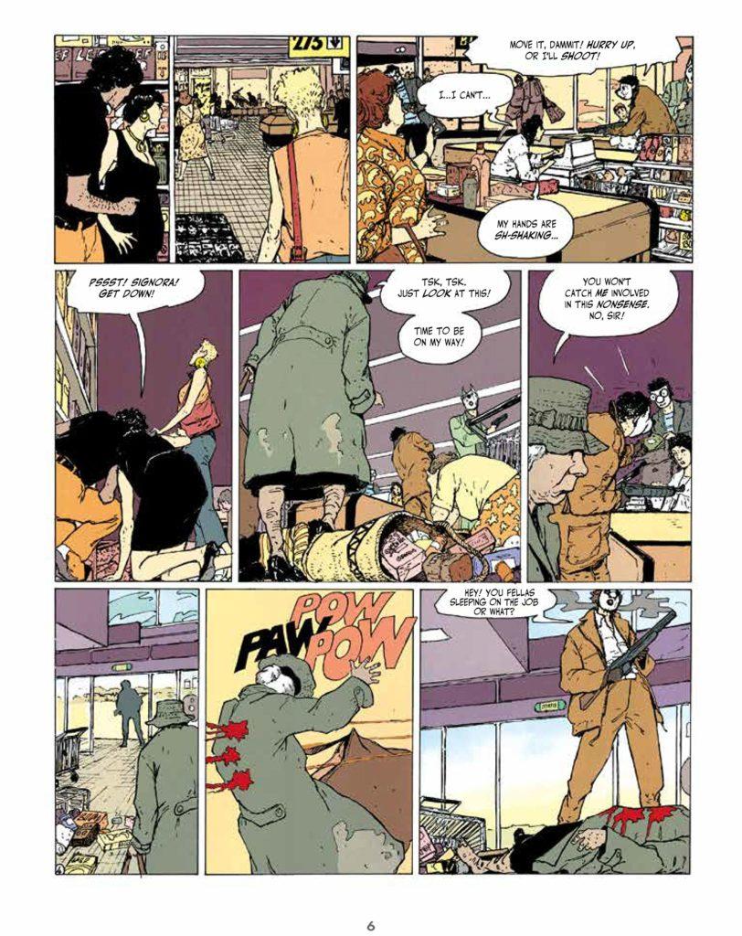 An Intense Feminist Crime Comics Dark Rage By Thierry Smolderen 1