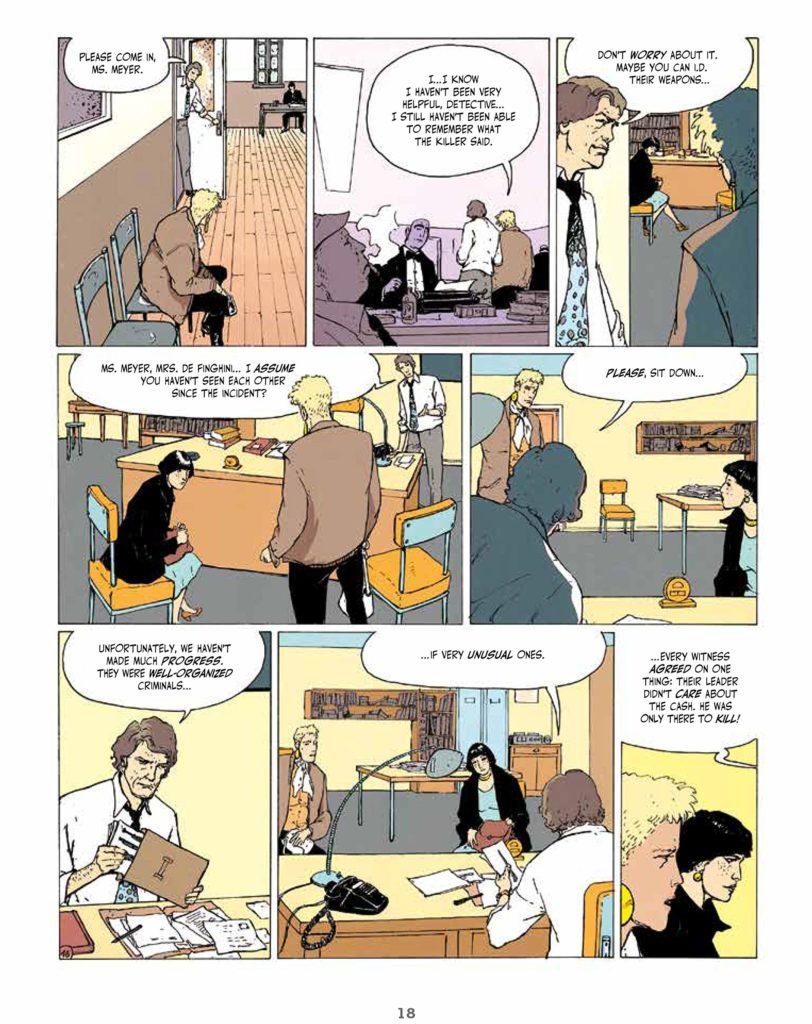 An Intense Feminist Crime Comics Dark Rage By Thierry Smolderen 8