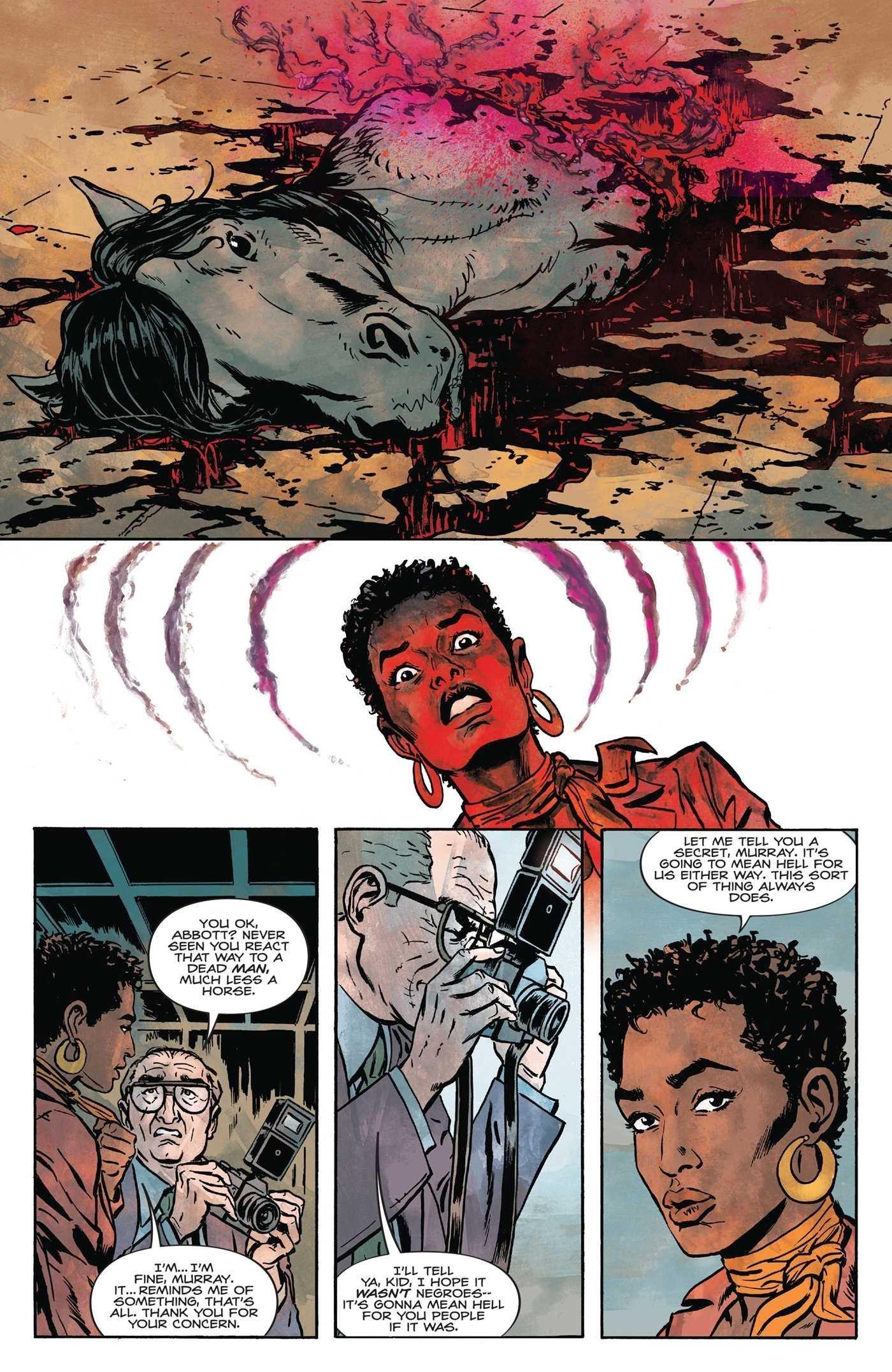 Best Of Black Crime Comics Abbott page 4