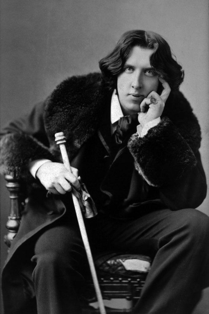Oscar Wilde portrait Mystery Tribune