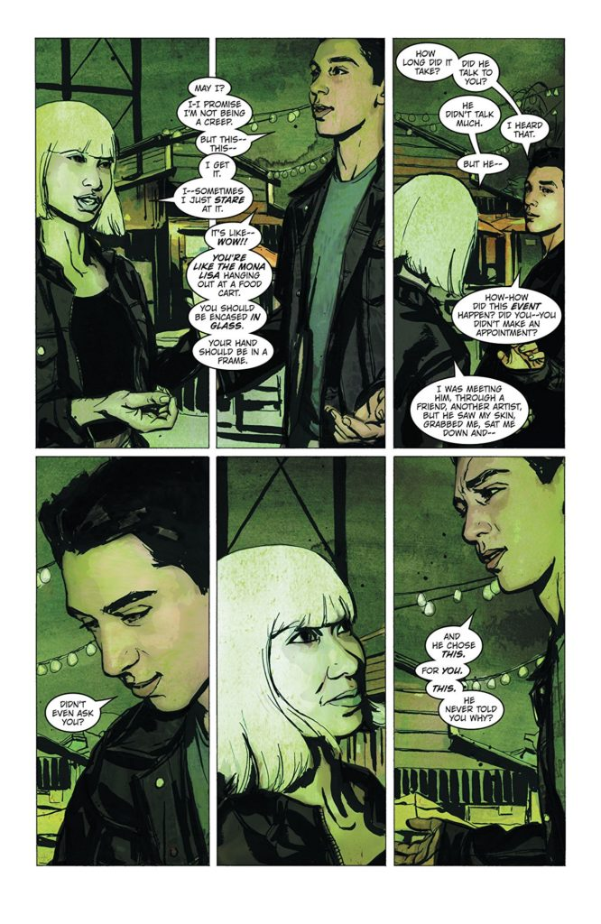 Tattoo Artists, Assassins, and American Yakuza In Pearl By Brian Michael Bendis 3