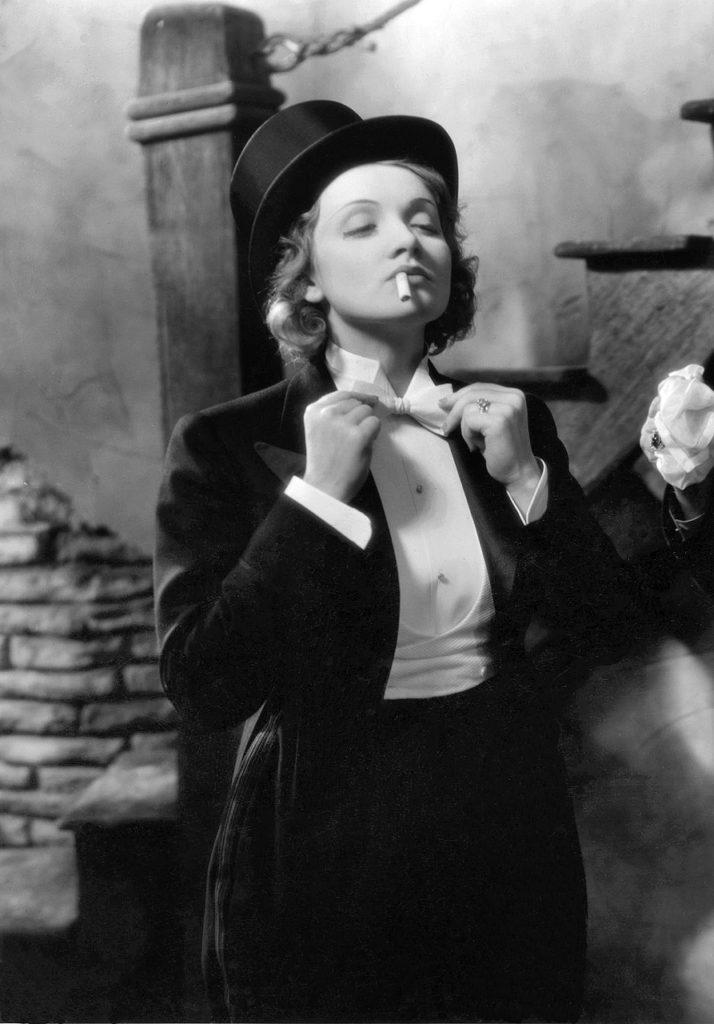 "Marlene Dietrich in ""Morocco"" (1930)"