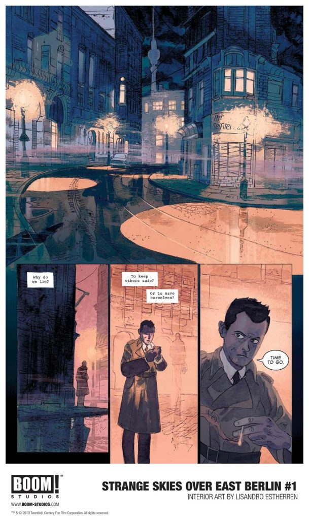Exciting Comics Series Scifi Spy Thriller Strange Skies Over East Berlin 2