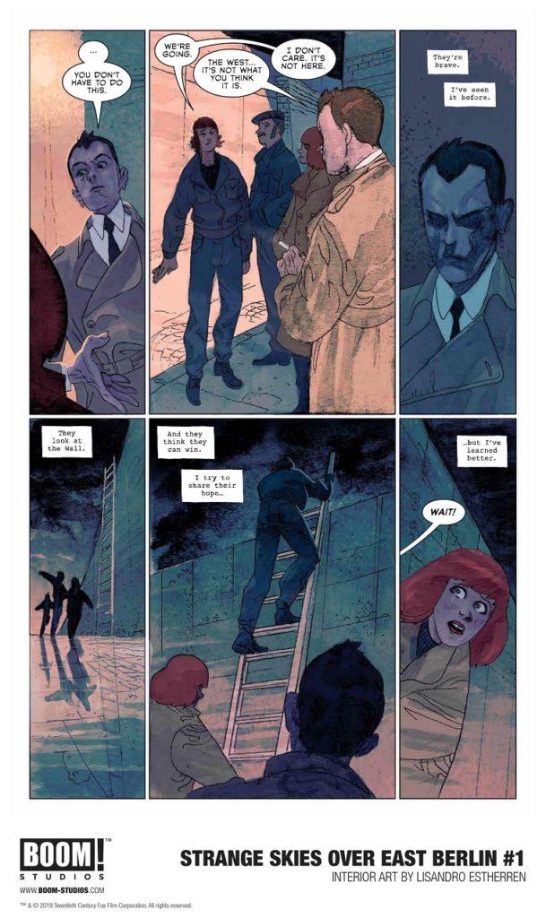 Exciting Comics Series Scifi Spy Thriller Strange Skies Over East Berlin 4