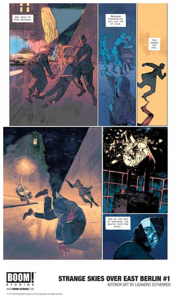 Exciting Comics Series Scifi Spy Thriller Strange Skies Over East Berlin 7