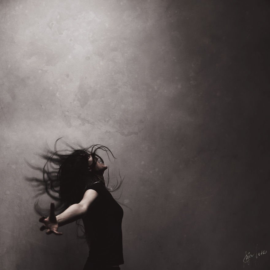 Magnificent And Mysterious Self-Portrait Photography By Anja Matko 5