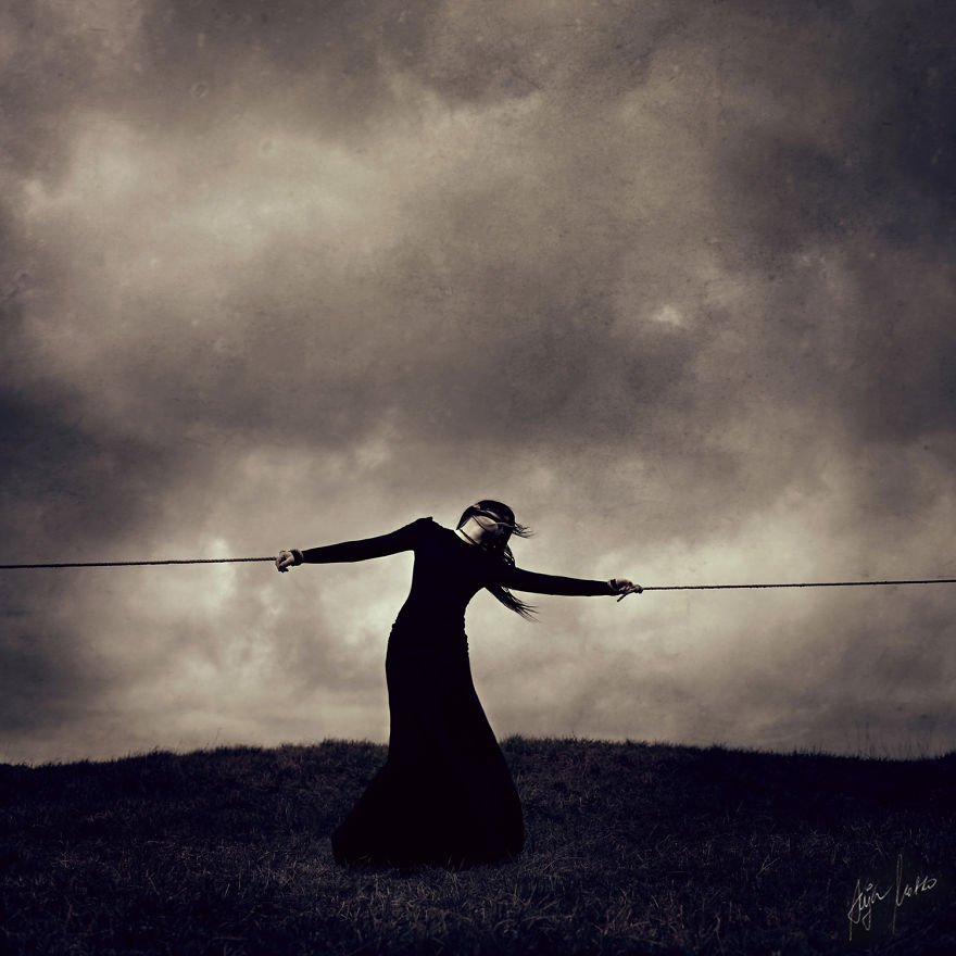 Magnificent And Mysterious Self-Portrait Photography By Anja Matko 7