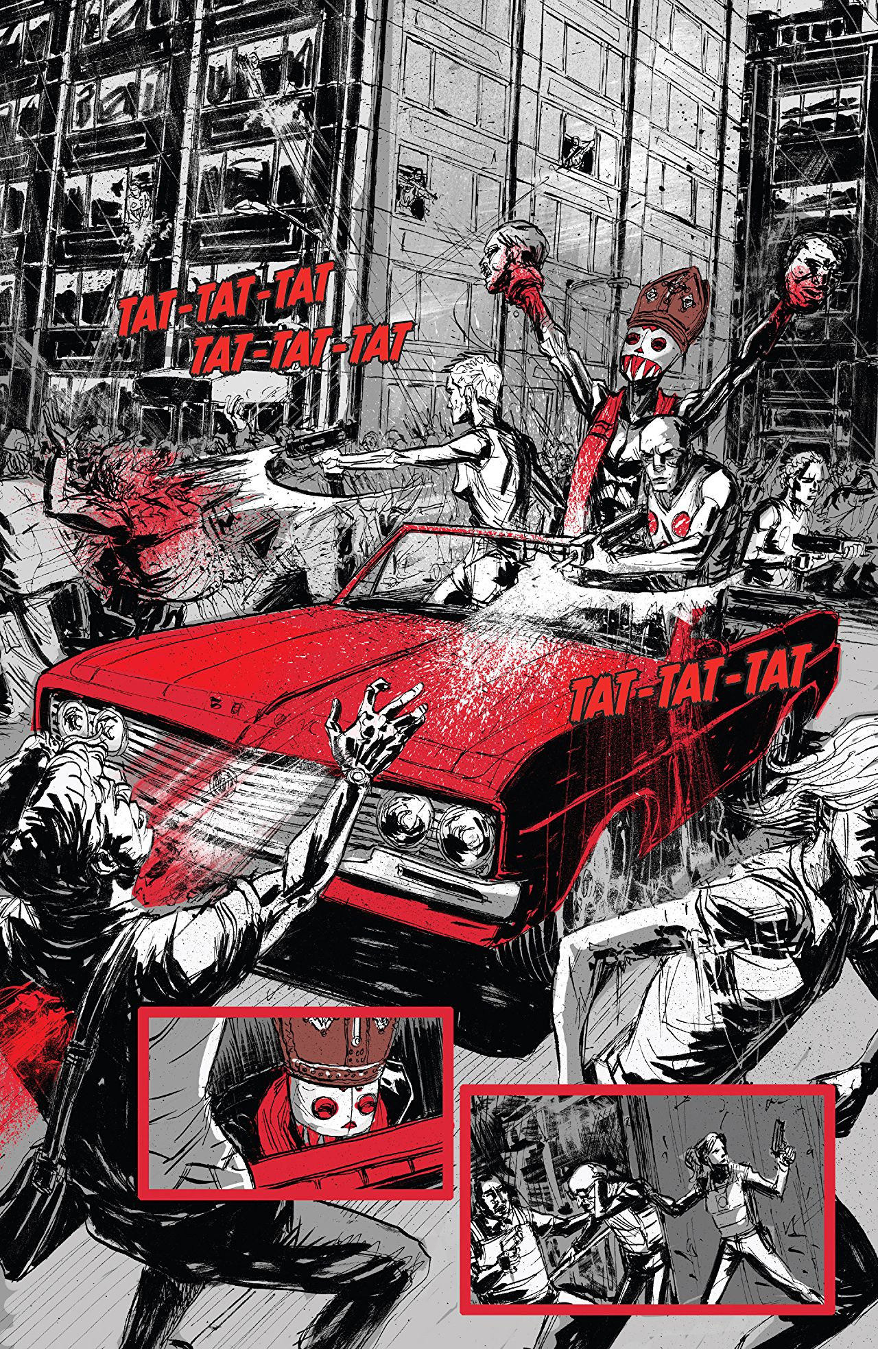 Bedlam Crime Comics Series By Nick Spencer Is A Solid Pick 5