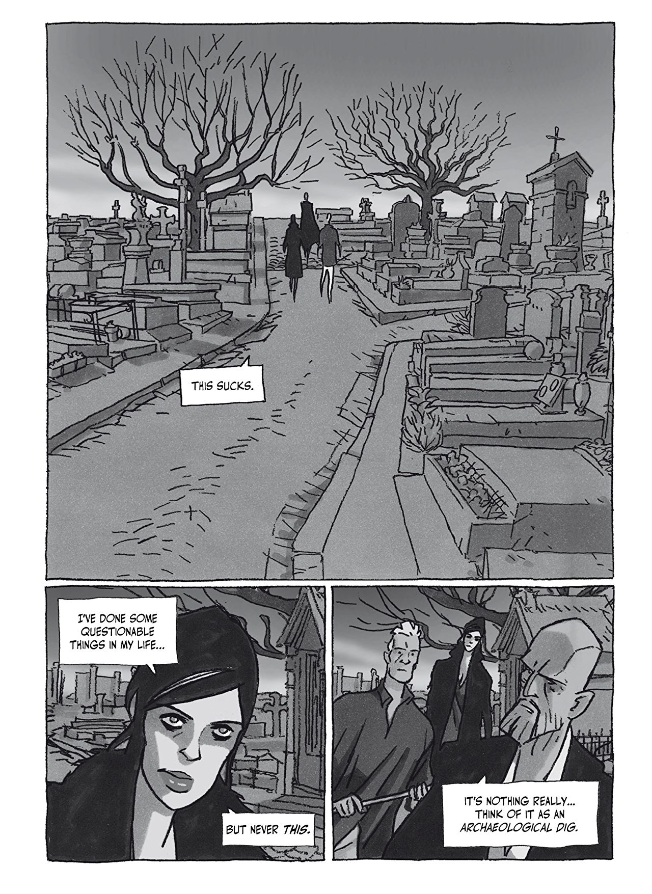 Bad Break Graphic Novel Is A Crime Story With Plenty of Noir Tropes Philippe Riche 4