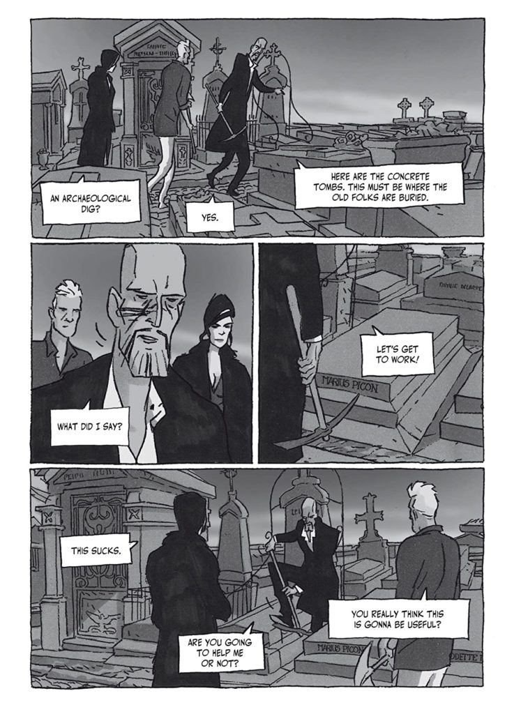 Bad Break Graphic Novel Is A Crime Story With Plenty of Noir Tropes Philippe Riche 5