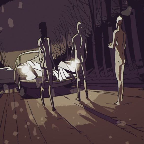 Bad Break Graphic Novel Is A Crime Story With Plenty of Noir Tropes Philippe Riche main
