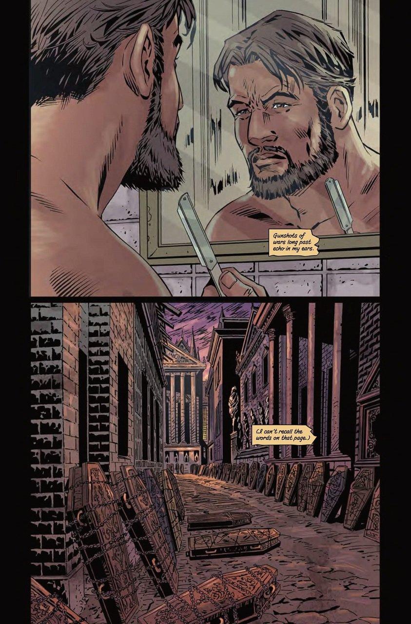 Gothic Thriller Comics Bloodborne Volume 4, The Veil, Torn Asunder Mystery Tribune 10