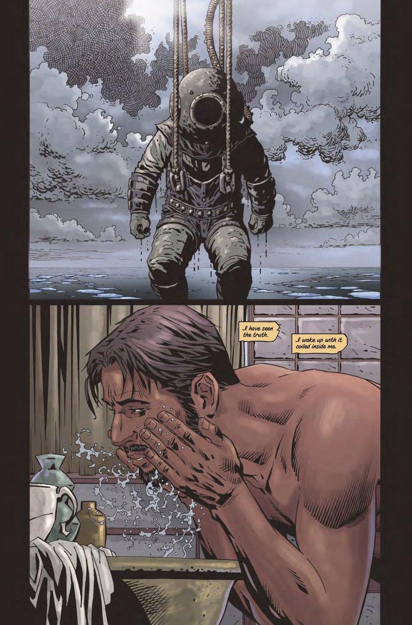 Gothic Thriller Comics Bloodborne Volume 4, The Veil, Torn Asunder Mystery Tribune 2