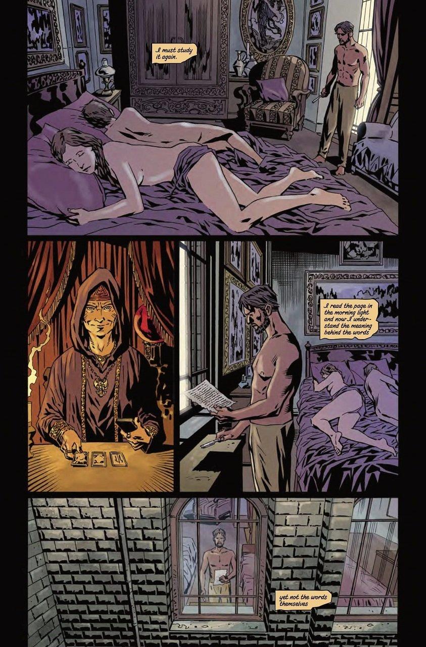 Gothic Thriller Comics Bloodborne Volume 4, The Veil, Torn Asunder Mystery Tribune 4