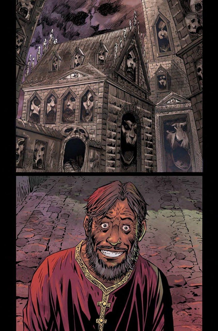 Gothic Thriller Comics Bloodborne Volume 4, The Veil, Torn Asunder Mystery Tribune 7