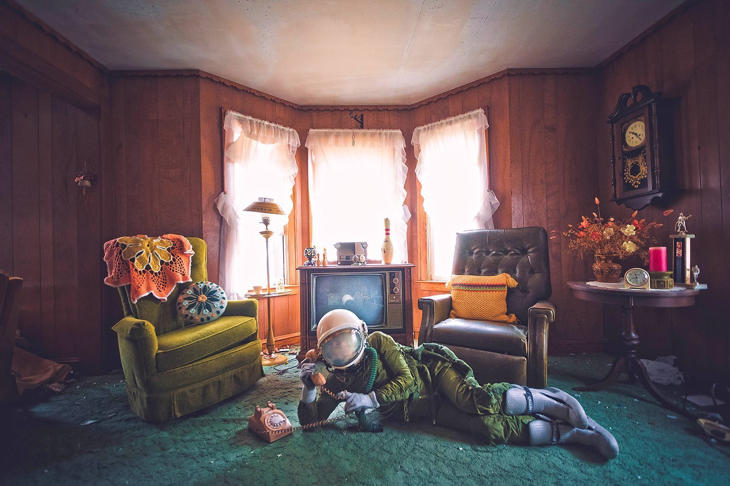 Karen Jerzyk's Surreal Photography The Lonely Astronaut 2