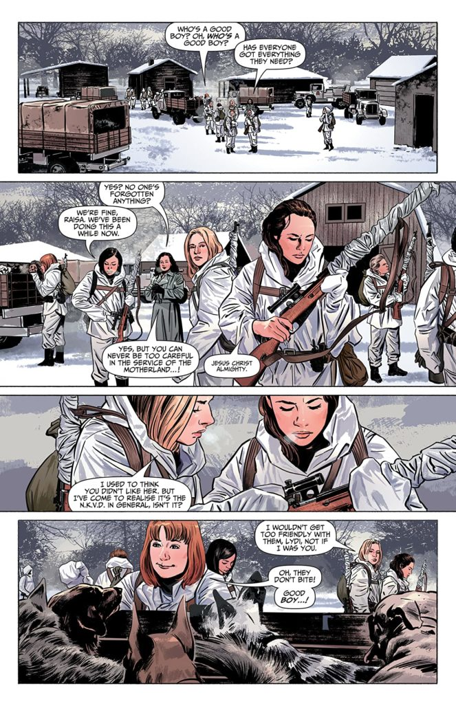 Sara A Solid World War II Thriller Comics With A Female Lead 6