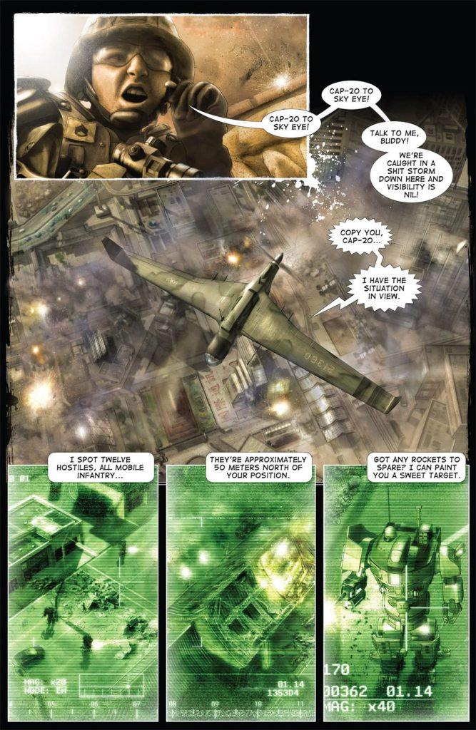 21 Best Military-Themed Comic Books and Graphic Novels 2021 Edition titanium rain 1