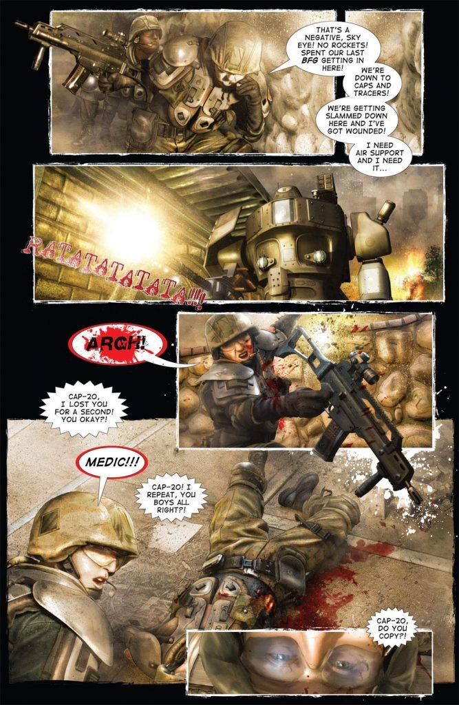 21 Best Military-Themed Comic Books and Graphic Novels 2021 Edition titanium rain 2