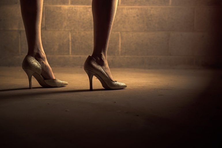 Five-Inch Heels Mystery Flash Fiction By Wanda McLaughlin