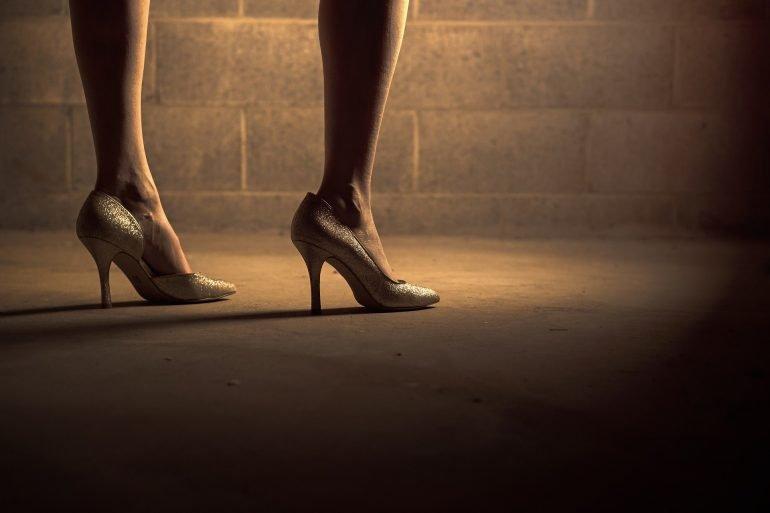 Five-Inch Heels Mystery Flash Fiction By Wanda McLaughlin