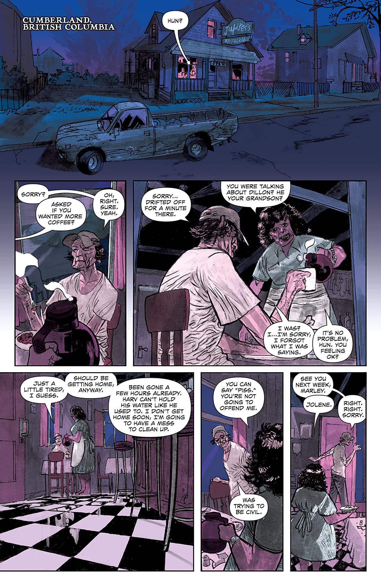 Last Contract A Badass and Fast-Paced Canadian Noir Graphic Novel 1