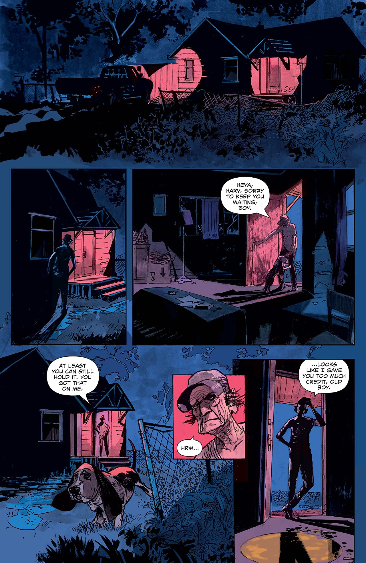 Last Contract A Badass and Fast-Paced Canadian Noir Graphic Novel