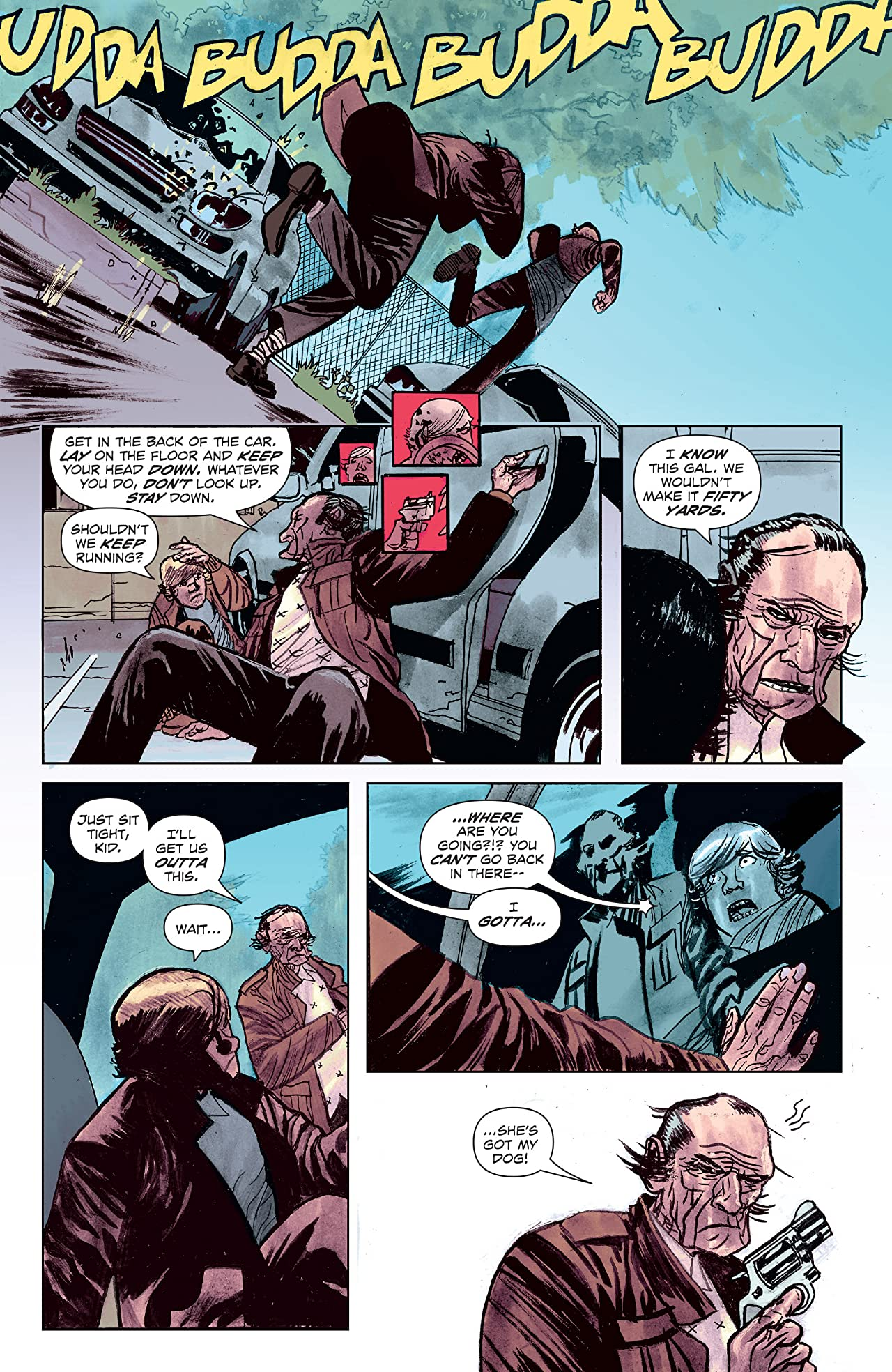 Last Contract A Badass and Fast-Paced Canadian Noir Graphic Novel 8