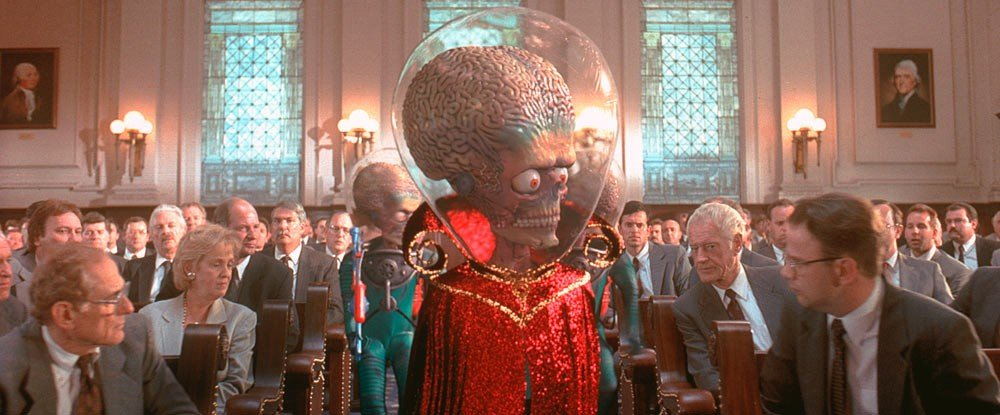 Best Crime, Mystery and Thriller Movies Coming to Netflix on September 2021 mars attacks